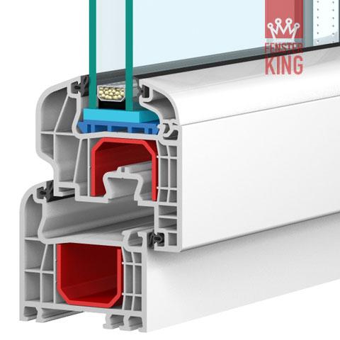 Kunststofffenster dreh kipp h 1350mm x b 1100 2200 mm for Kellerfenster shop